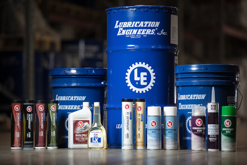 Produkte von Lubrication Engineers